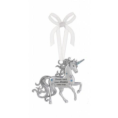 Dream Until Unicorn Ornament
