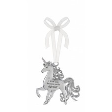 I Love You Different Unicorn Ornament