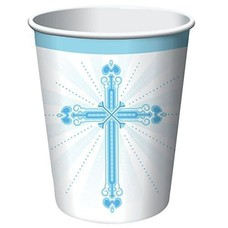Blessings Blue 9oz Hot Cold Cup 8ct