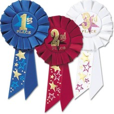 1st, 2nd, 3rd Place Award Ribbons