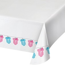 Bow or Bowtie Plastic Tablecover