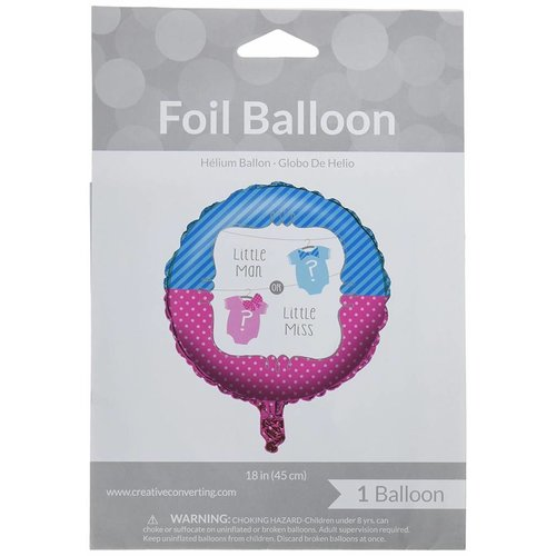 "Bow or Bowtie 18"" Mylar Balloon"