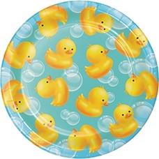 "Bubble Bath 7"" Dessert Plates 8ct"