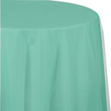 *Fresh Mint Octy Round Tablecover