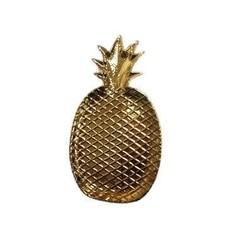 EverEllis Pineapple Gold Plate