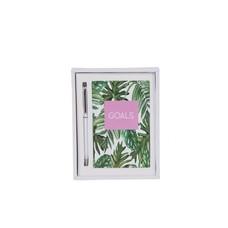 EverEllis Goals Palm Leaf Notebook Set