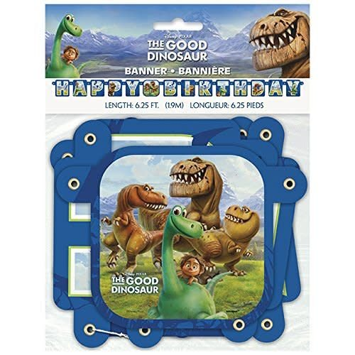 The Good Dinosaur Birthday Banner