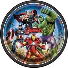 """*Avengers 9"""" Dinner Plates 8ct"""