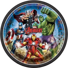 The Avengers 9in Plate