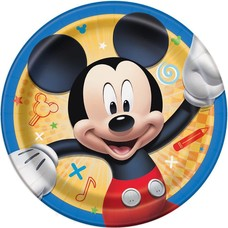 Mickey and The Roadster Racer 7in Plate