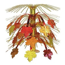 Fall Leaves Cascade Centerpiece 18 inch