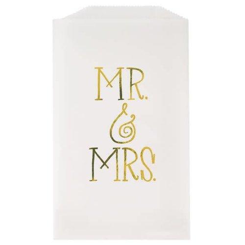 Mr. & Mrs. Glassine Treat Bags