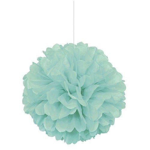 *Fresh Mint Puff Decoration