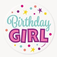 Birthday Girl Button