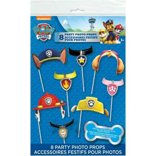 *Paw Patrol Photo Props 8ct