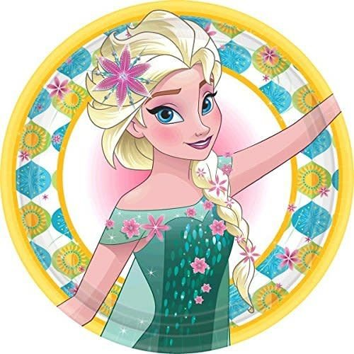"**Frozen Fever 9"" Dinner Plates 8ct"