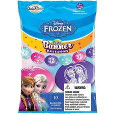 M&D industries **Frozen Party Banner Balloons 10ct