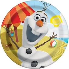 "**Olaf 9"" Dinner Plates 8ct"