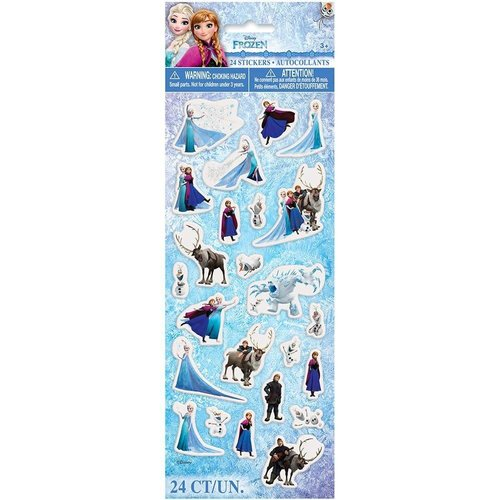 **Frozen Puffy Stickers