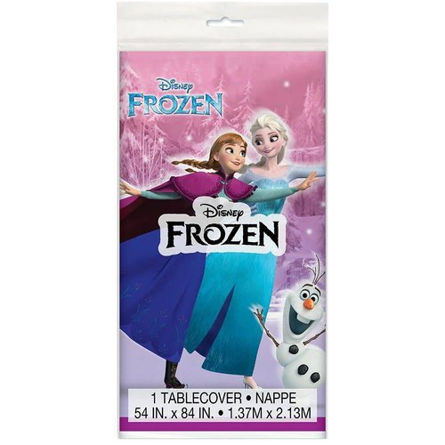 **Frozen Plastic Tablecover