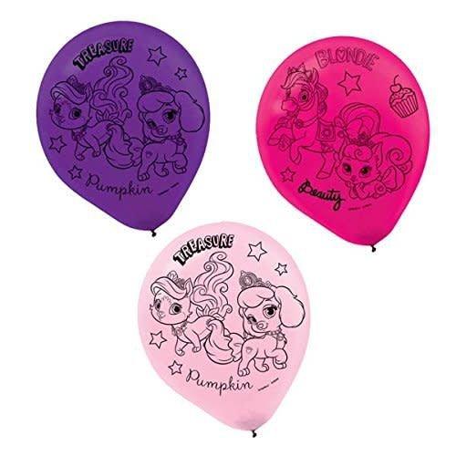 *Palace Pets Latex Balloons 6ct