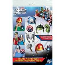 Avengers Photo Props 8ct
