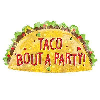 Taco Bout A Party Mylar