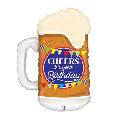 Cheers it's your Birthday Mug Mylar