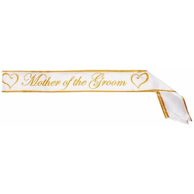 *Mother Of The Groom Sash