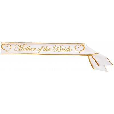 *Mother Of The Bride Sash