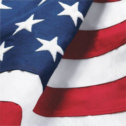 Freedoms Flag Lunch Napkins 16ct