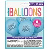 Baby Shower Latex Balloons