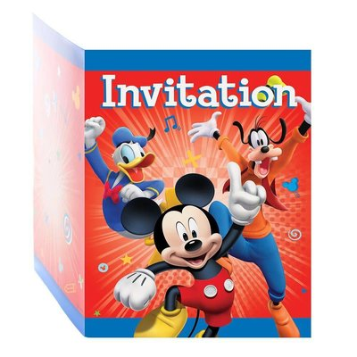 Mickey & The Roadster Racer Invitations