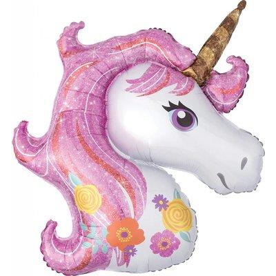 Magical Unicorn Jumbo Mylar