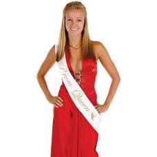 *Prom Queen Sash