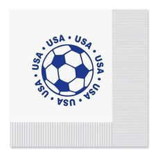 USA Soccer Lunch Napkins16ct
