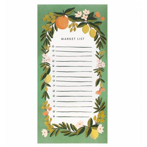 Rifle Paper Co. Citrus Floral Market Pad