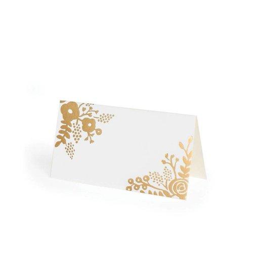 Rifle Paper Co. Gold Lace Placemats