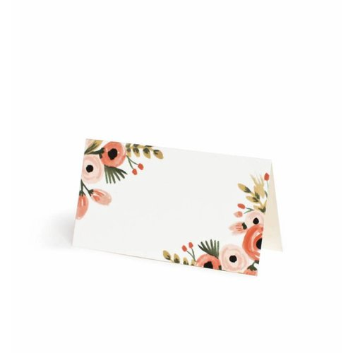 Rifle Paper Co. Dusty Rose Place Cards