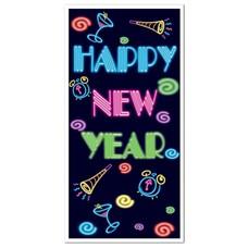 Happy New Year Door Cover