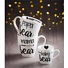 Ceramic Cup O' Java Cup Gift Set, Bear Family