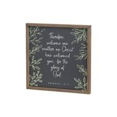 Glory God Wood Sign