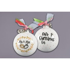 Mr & Mrs. Ornament