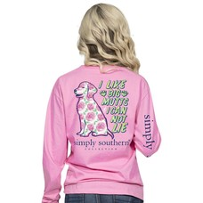 Long Sleeve Preppy Mutt Flamingo
