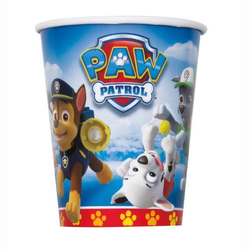 *Paw Patrol 9oz Cups 8ct