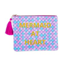 Mermaid at Heart Brush Bag