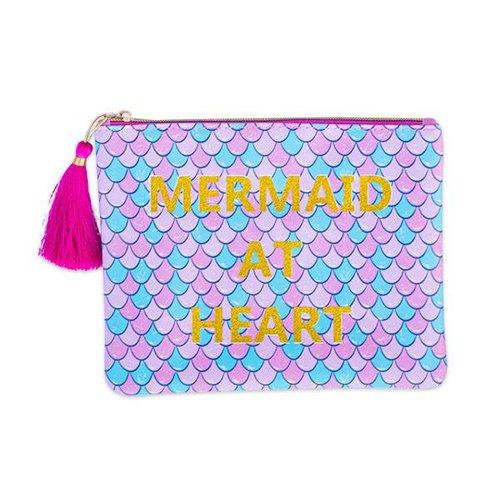 Mermaid at Heart Brush Bag