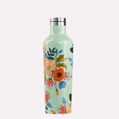 Corkcicle Mint Lively Floral Corkcicle Canteen