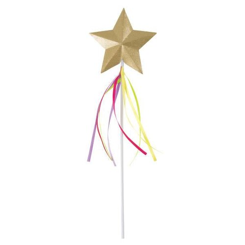 Rainbow Ribbon Princess Wand