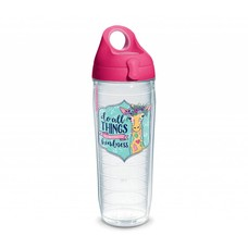 Tervis Do All Things With Kindness Giraffe Simply Southern Tervis Waterbottle